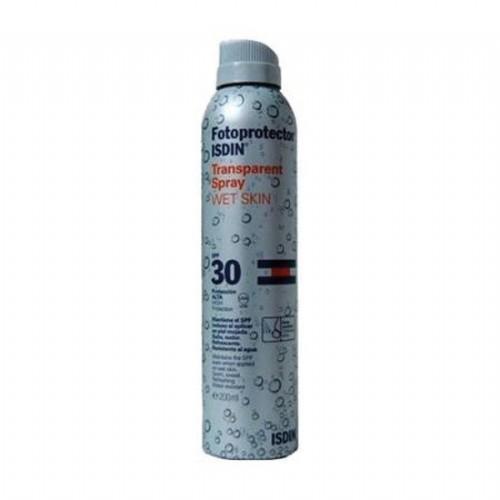 Fotoprotector isdin spf-30 spray transparente (200 ml)
