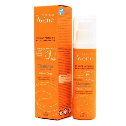 Avene cleanance solar spf 50+ muy alta proteccion (color 50 ml)
