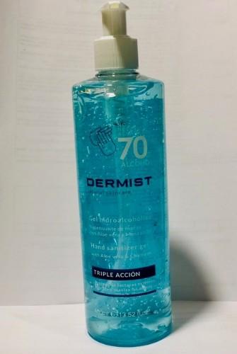 Dermist gel hidroalcoholico 70% 100 ml