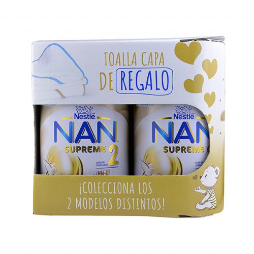 Nan supreme 2 (2 latas 800 g + regalo)