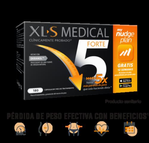 Xls medical forte x5 (180 capsulas)