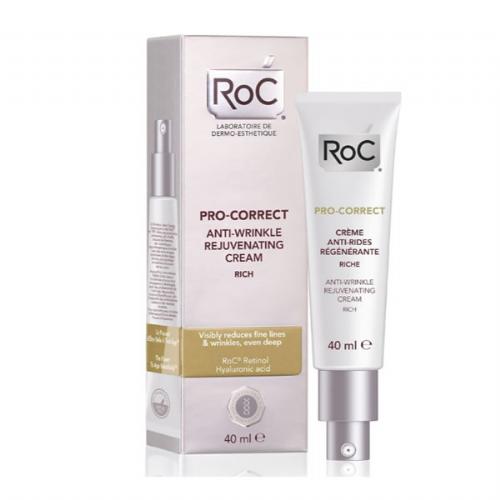 Roc pro-correct c antiarrugas rejuvenecedora (1 envase 50 ml textura rica)