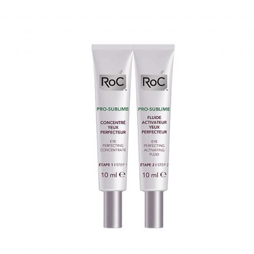 Roc pro- sublime tto antiedad perfeccionador - ojos (2 envases 10 ml)