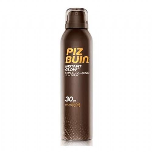 Piz buin instant glow spray piel luminosa spf 30 (150 ml)