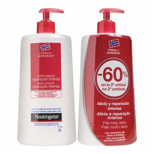 Neutrogena formula noruega locion corporal - reparacion intensa piel muy seca y rugosa (duplo 750 ml