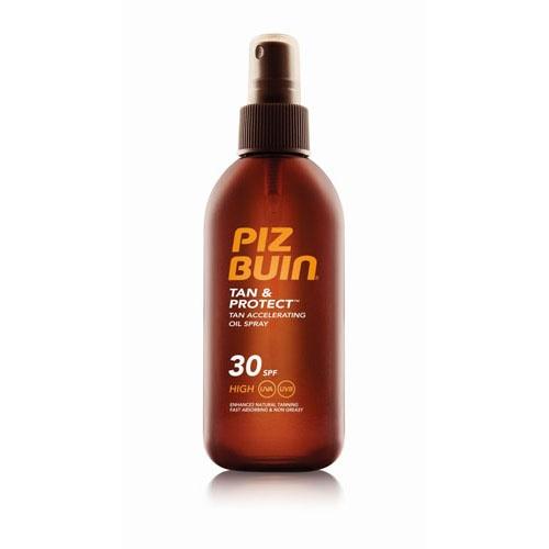 Piz buin fps - 30 proteccion media - aceite en spray solar acelerador de bronceado (150 ml)