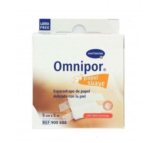 Esparadrapo hipoalergico - omnipor (de papel 5 m x 5 cm)