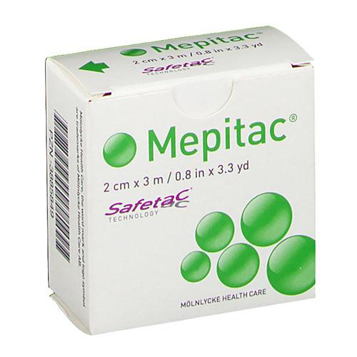 Esparadrapo - mepitac fijacion suave silicona (2cm x3m)
