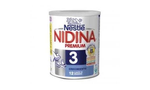 NIDINA 3 – Leche en polvo de crecimiento – 800gr