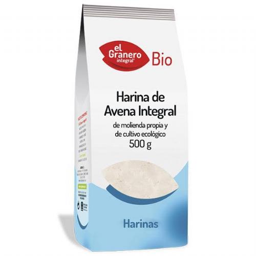 Harina avena int bio 500g (el granero)