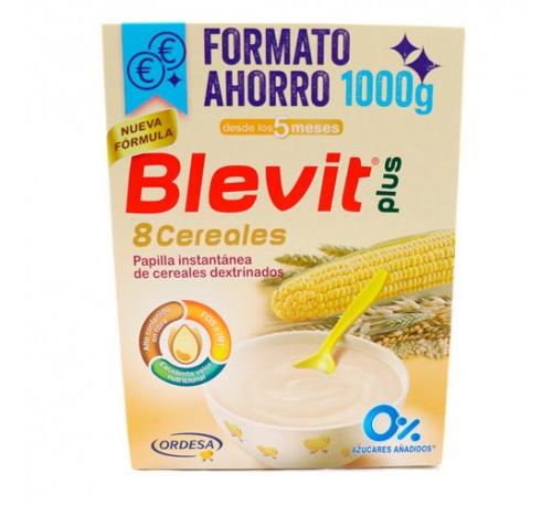 Blevit plus 8 cereales (1 envase 1000 g)