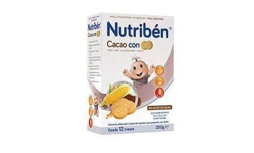 Nutriben cacao con galletas maria (250 g)