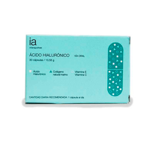 Interapothek acido hialuronico (30 caps)