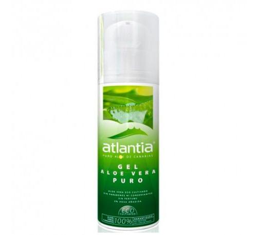 Atlantia gel de aloe vera puro (1 envase 250 ml)