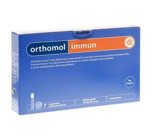 Orthomol immun (7 raciones (vial bebible 20 ml y 2 comprimido)