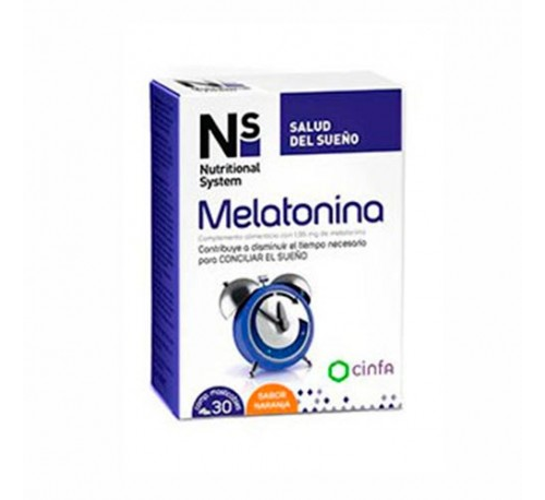Ns melatonina (1,95 mg 30 comprimidos masticables)