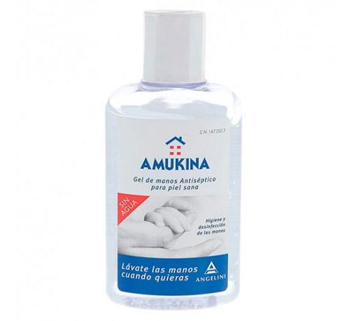Gel hidroalcoholico - amukina (1 frasco 80 ml)
