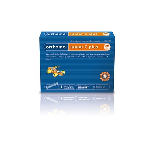 Orthomol junior c plus granulado directo (7 raciones diarias)