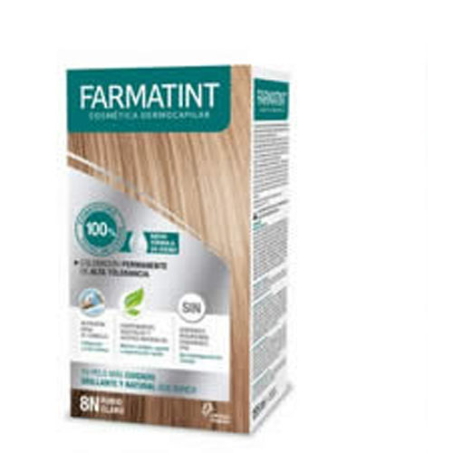 Farmatint tinte capilar (tono 8n rubio claro)