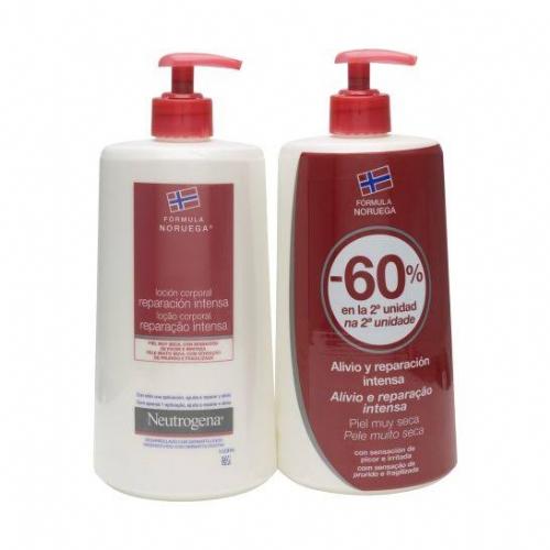 Neutrogena formula noruega locion corporal - reparacion intensa piel muy seca y rugosa (2 envases 75