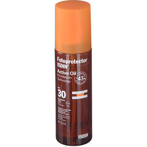 Fotoprotector isdin active oil spf - 30 (200 ml)
