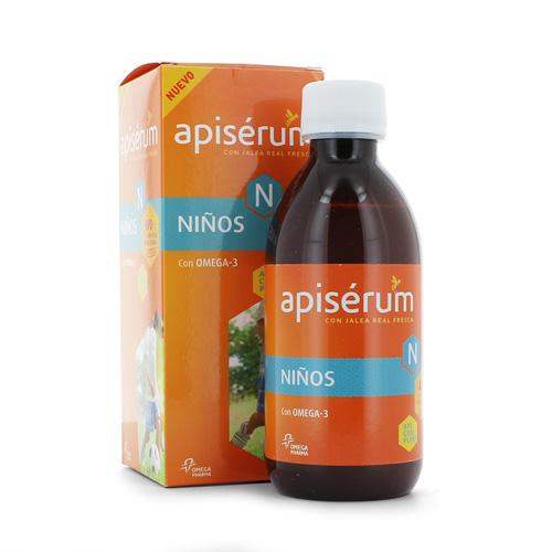 Apiserum niños jarabe (250 ml)