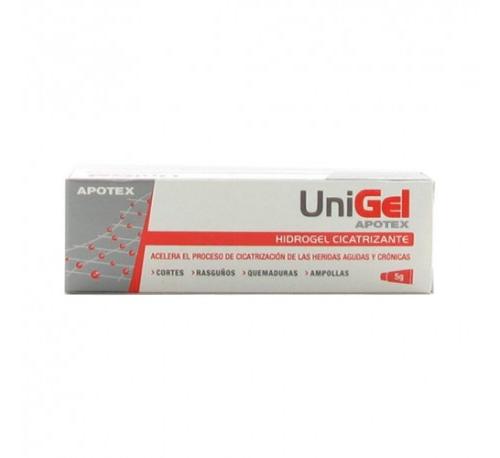 Unigel hidrogel (1 tubo 5 g)