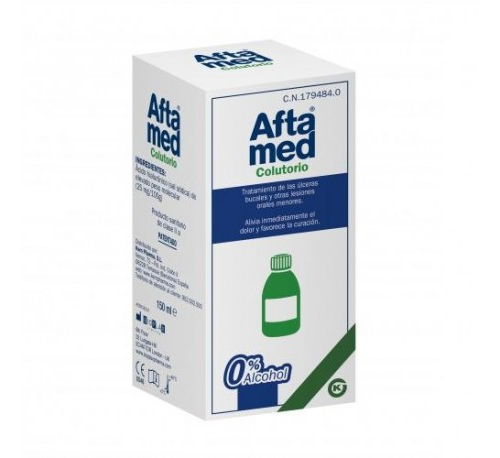 Aftamed colutorio (1 frasco 150 ml)