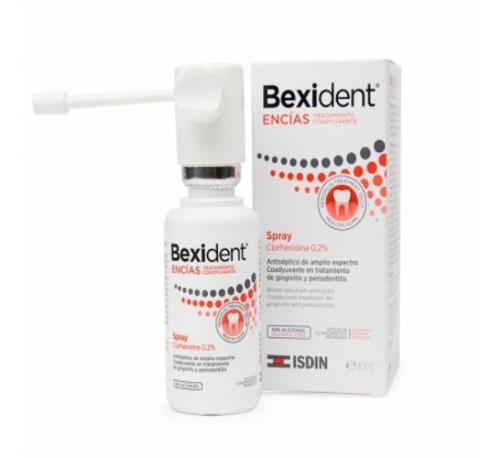 Bexident encias spray clorhexidina 0,2% - tratamiento coadyuvante (1 envase 40 ml)