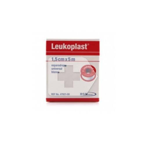 Esparadrapo - leukoplast (carne 5 x 1.5 cm 24 u)