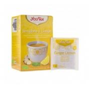 Yogi tea jengibre y limon 17 inf