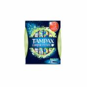 Tampax compak pearl tampon 100%algodon (super 18 u)
