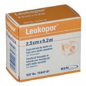 Esparadrapo hipoalergico - leukopor (papel 2.5 x 9.2 m dispensador)