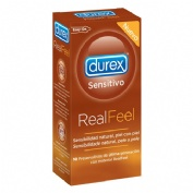 Durex real feel preservativo sin latex 10 u