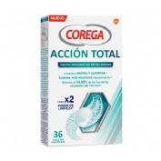 COREGA ACCION TOTAL LIMPIADOR - LIMPIEZA PROTESIS DENTAL (30 TABLETAS)