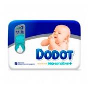 Pañal infantil - dodot protection plus sensitive (t- 2 4- 8 kg 34 u)
