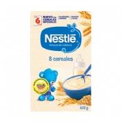 Nestle papilla 8 cereales (600 g)