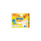Nestle papilla 8 cereales con miel (Brik 250 ml 2 u)