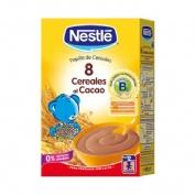 Nestle papilla 8 cereales al cacao (600 g)