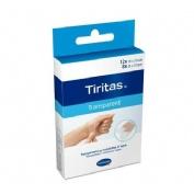 Tiritas aposito adhesivo (transparente 2 tamaños 20 tiritas)
