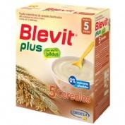 Blevit plus 5 cereales (1 envase 300 g)