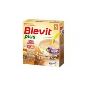 Blevit plus duplo 8 cereales con miel y galletas (1 envase 600 g)