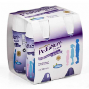 Pediasure drink (4 botellas 200 ml sabor vainilla)