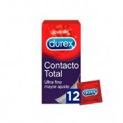 Durex sensitivo contacto total (12 u)