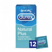 Durex natural plus (12 u)