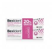Bexident dientes sensibles pasta dentifrica ging (75 ml)