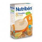 Nutriben 8 cereales y miel 4 frutas (1 envase 600 g)