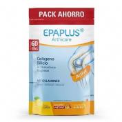 Epaplus colageno + silicio + hialuronico - + magnesio polvo (sabor limon 60 dias 668 g)