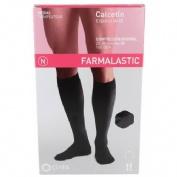 Calcetin - farmalastic (negro t- med)