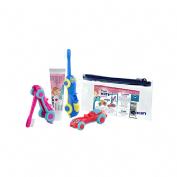 Fluor kin infantil pasta dentifrica - + cepillo infantil kin viaje inicio (25 ml)